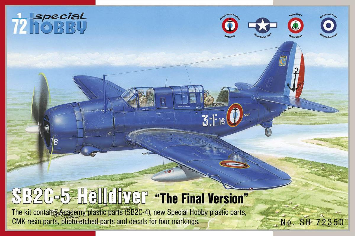 "Special Hobby SB2C-5 Helldiver""The Final Version"" 1/72"
