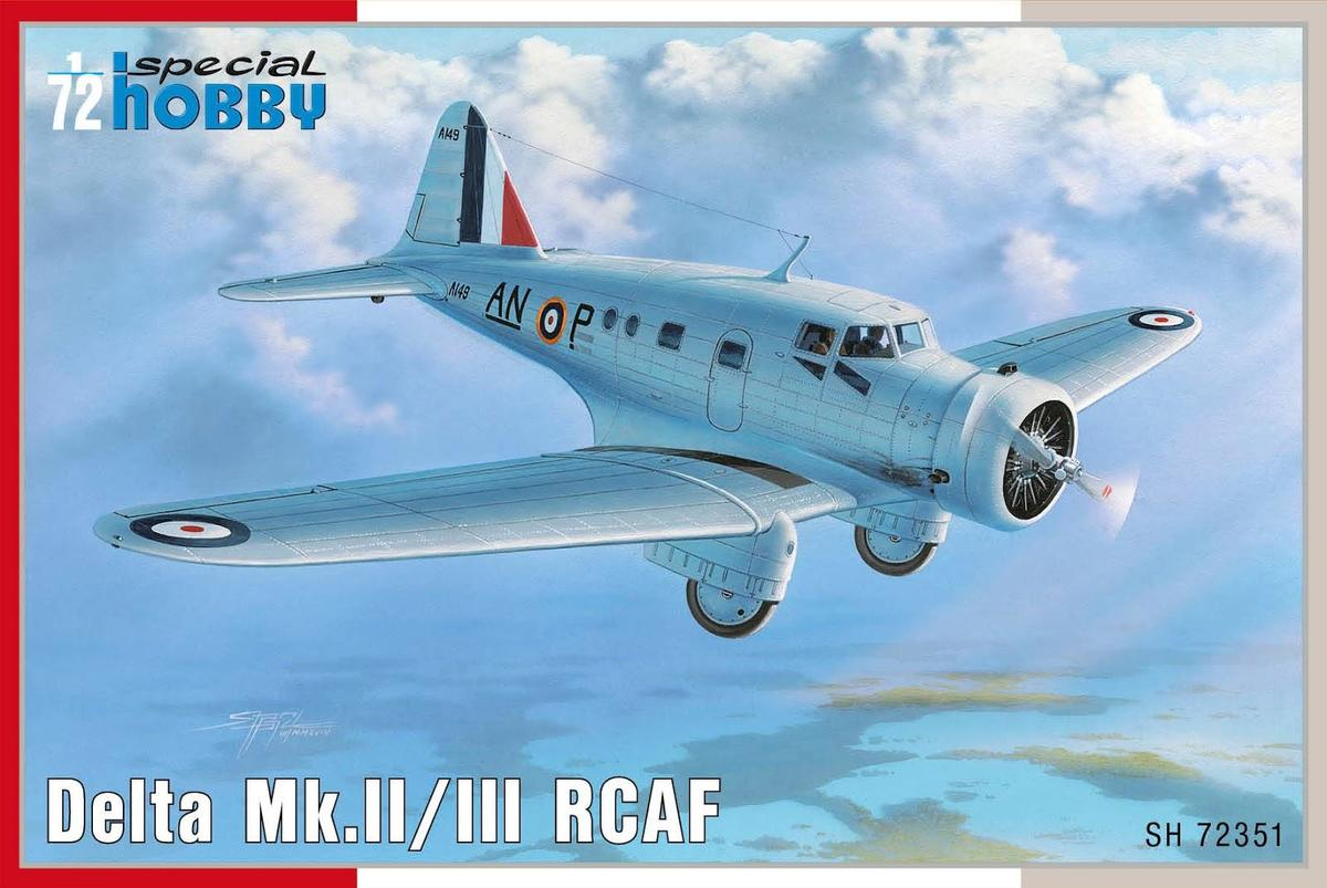 Special Hobby Delta Mk.il/lii RCAF1/72