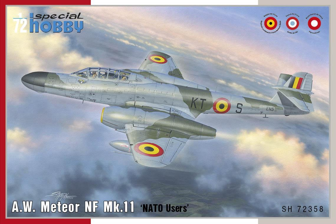 Special Hobby 1/72 A.W. Meteor NF Mk.11