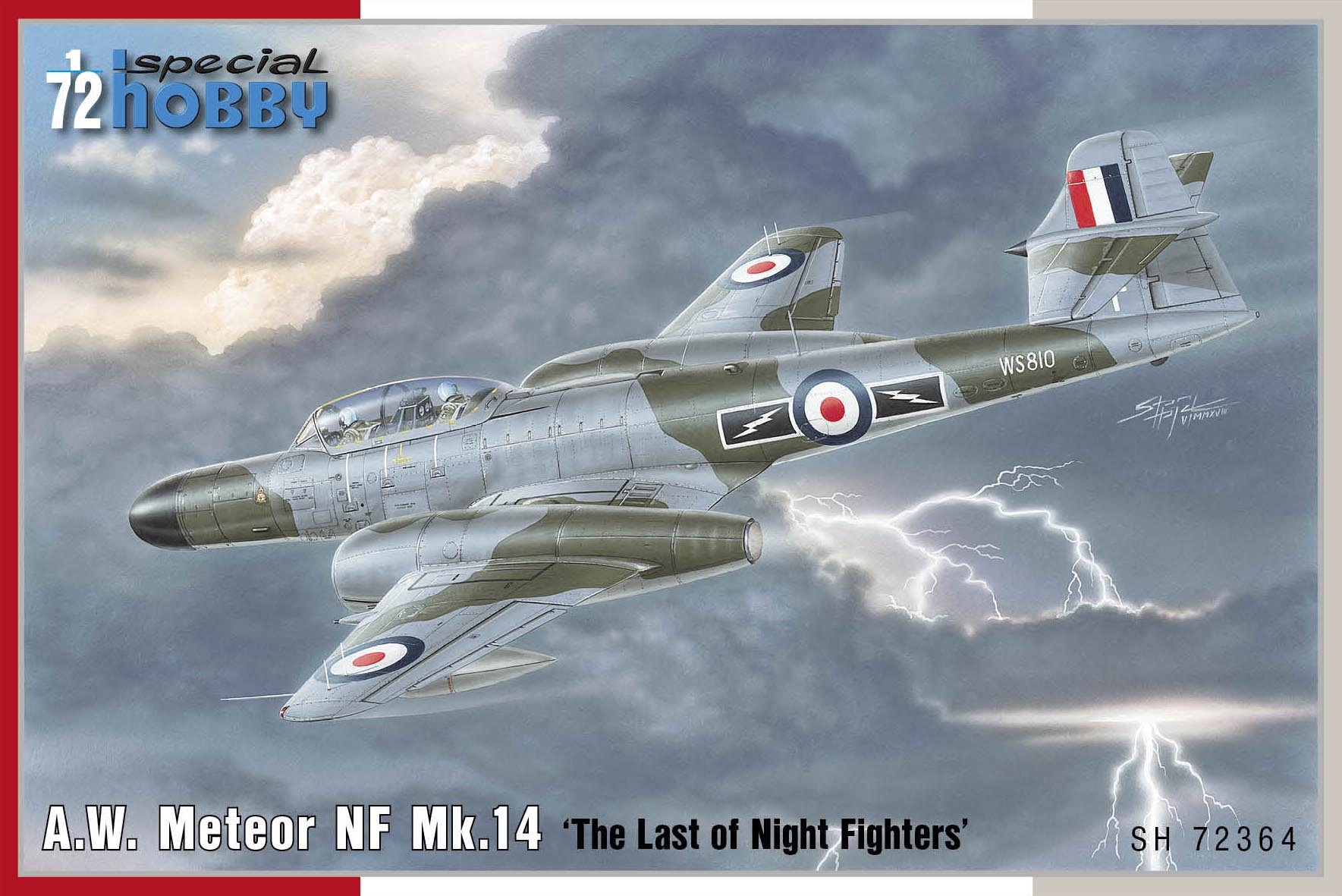 """Special Hobby 1/72 A.W. Meteor NF Mk.14 """"The Last of Night Fighters"""""""