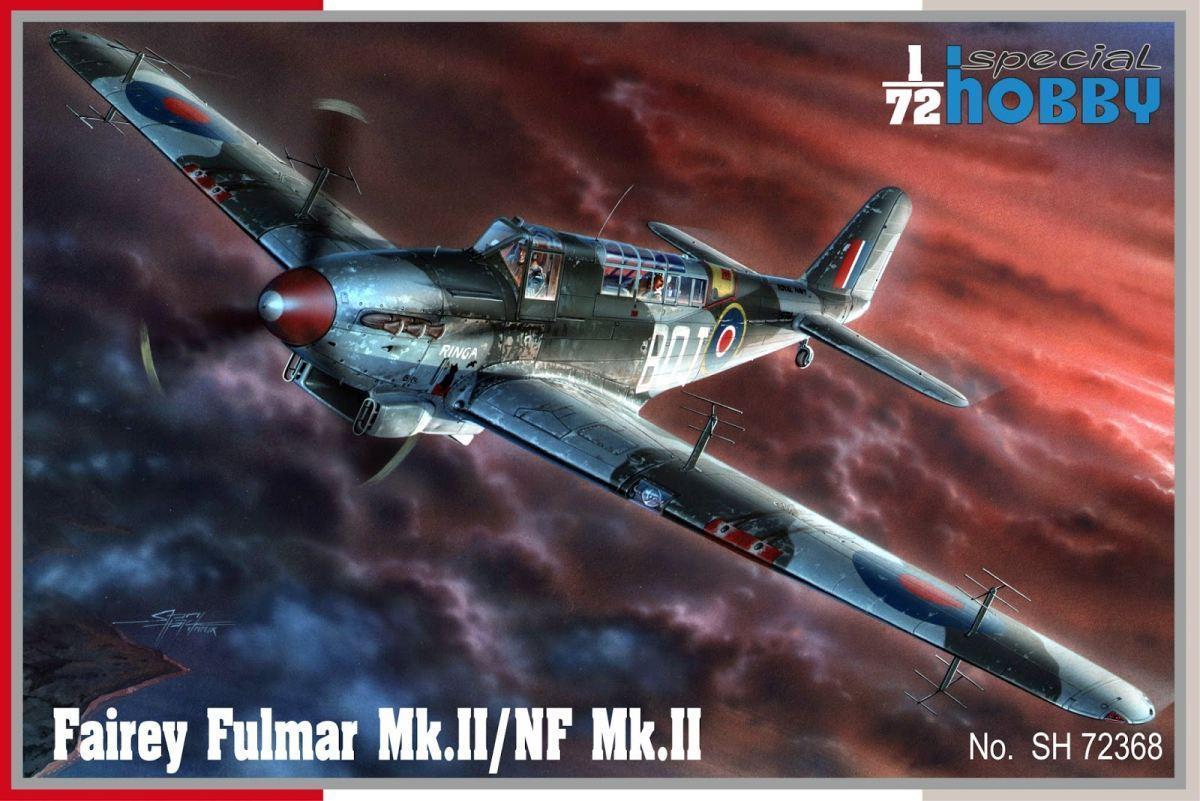 Special Hobby 1/72 Fairey Fulmar Mk.II/NF Mk.II