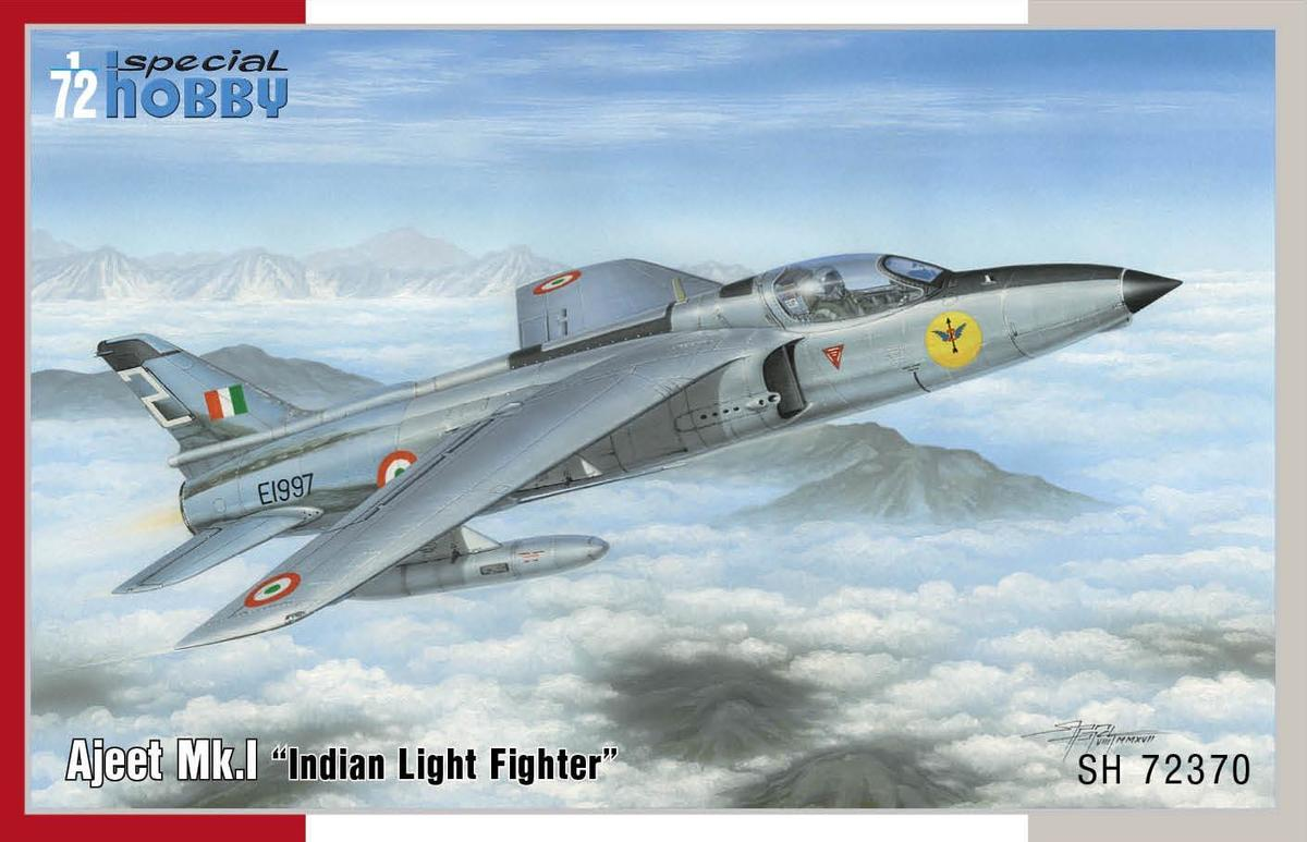 Special Hobby 1/72 HAL Ajeet Mk.I Indian Light Fighter
