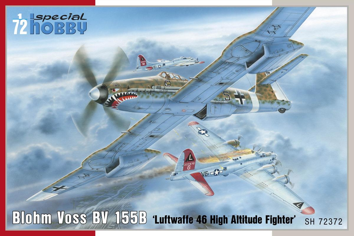 Special Hobby Biohm Voss BV 155B-1 'Luftwaffe 46 High Altitude Fighter'