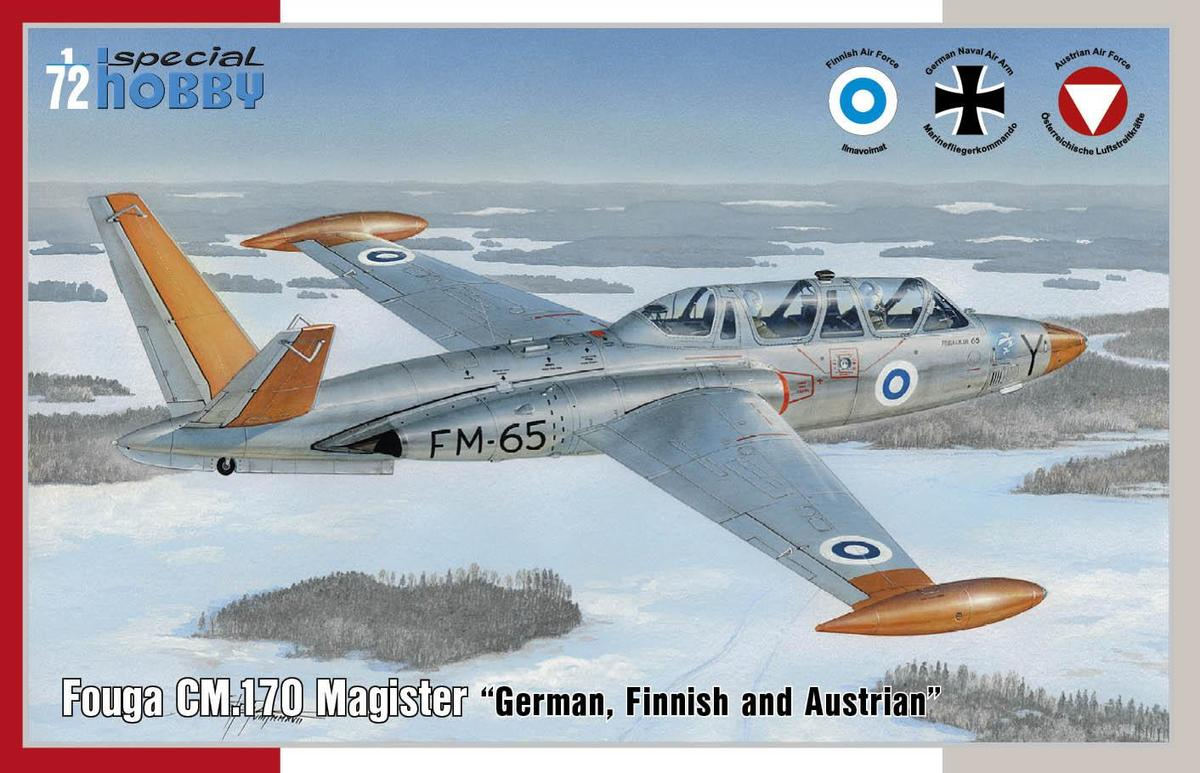 Special Hobby Fouga CM.170 Magister German, Finnish and Austrian 1/72