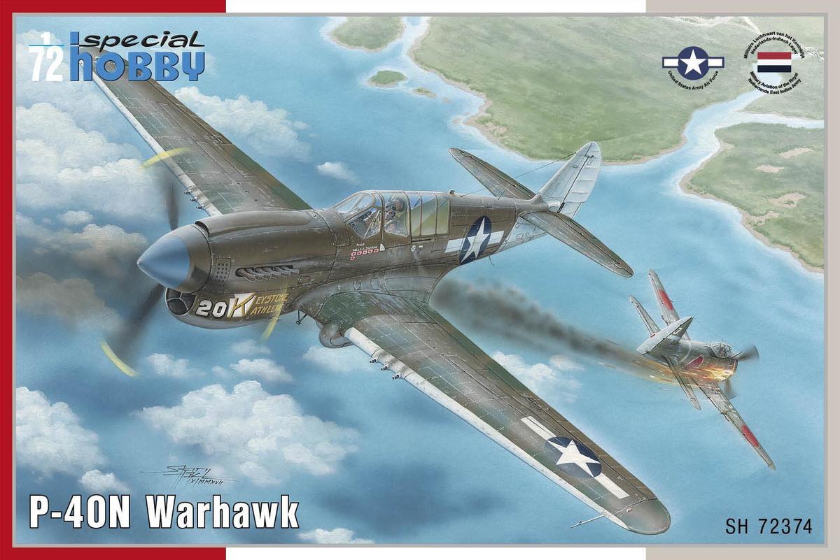 Special Hobby P-40N Warhawk 1/72