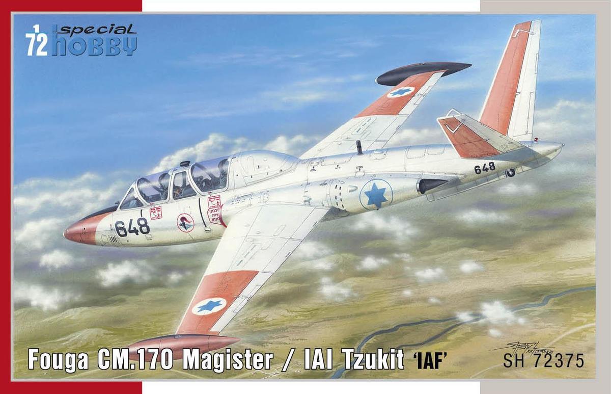 Special Hobby Fouga CM.170 Magister/IAI Tzukit 'IAF'