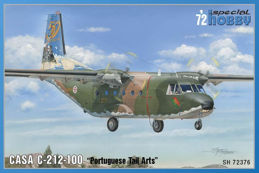 Special Hobby 1/72 CASA C.212-100 Portugese Tail Arts