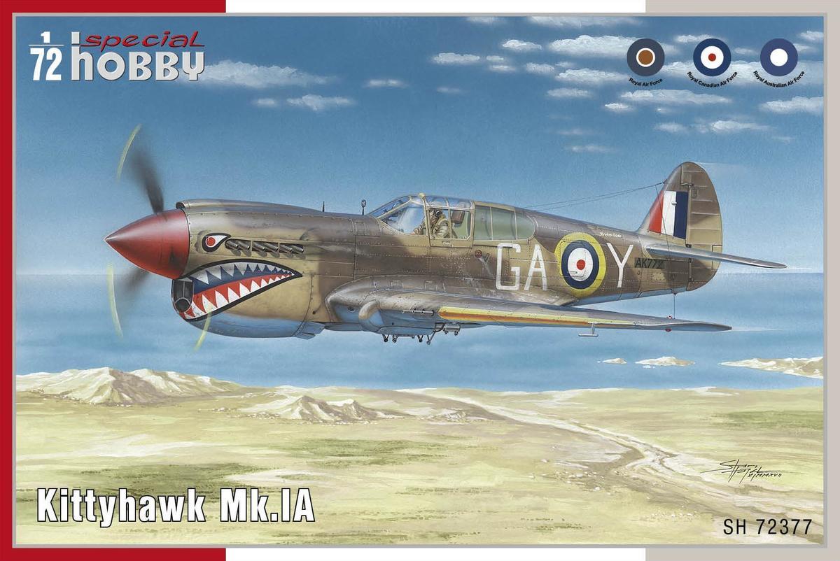 Special Hobby Kittyhawk Mk.lA 1/72