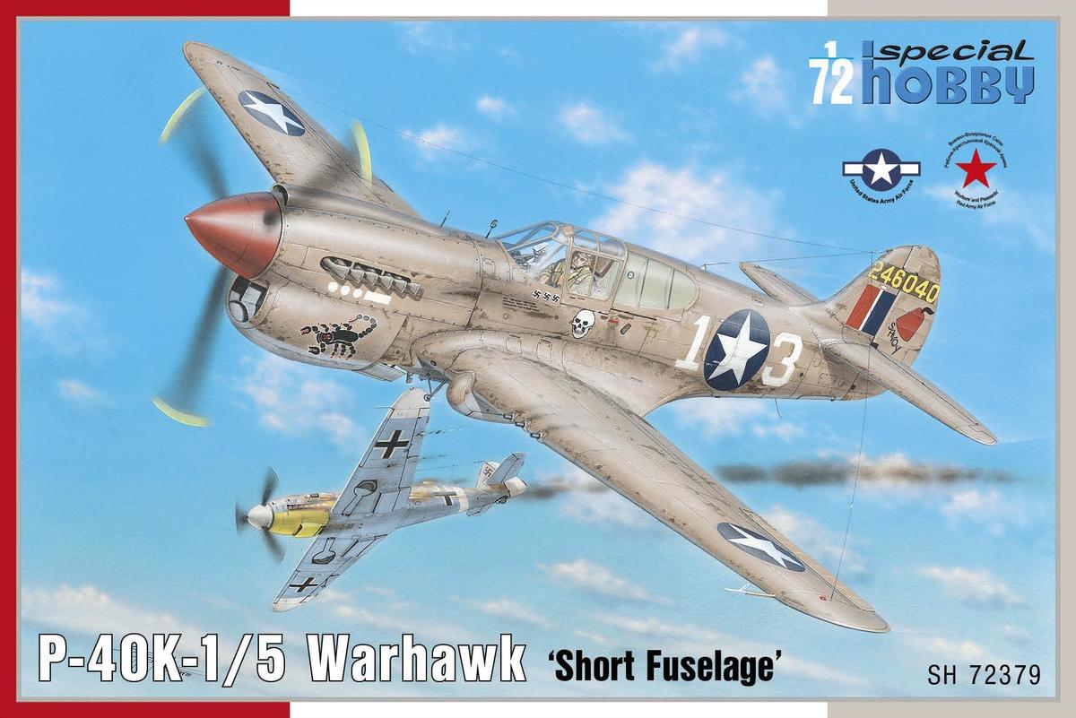Special Hobby P-40K1/5 Warhawk 'Short Tail' 1/72