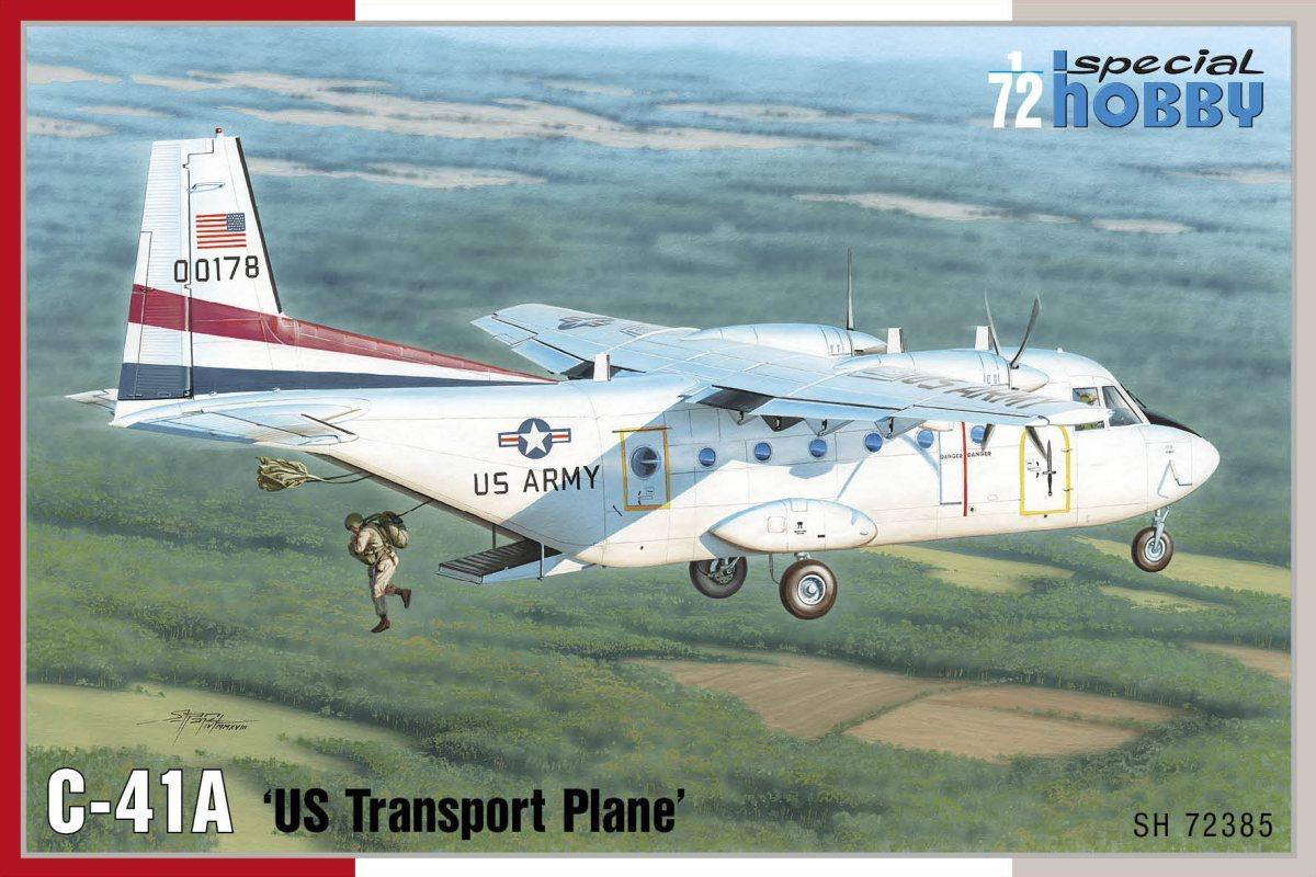 Special Hobby C-41A 'US Transport Plane'1/72