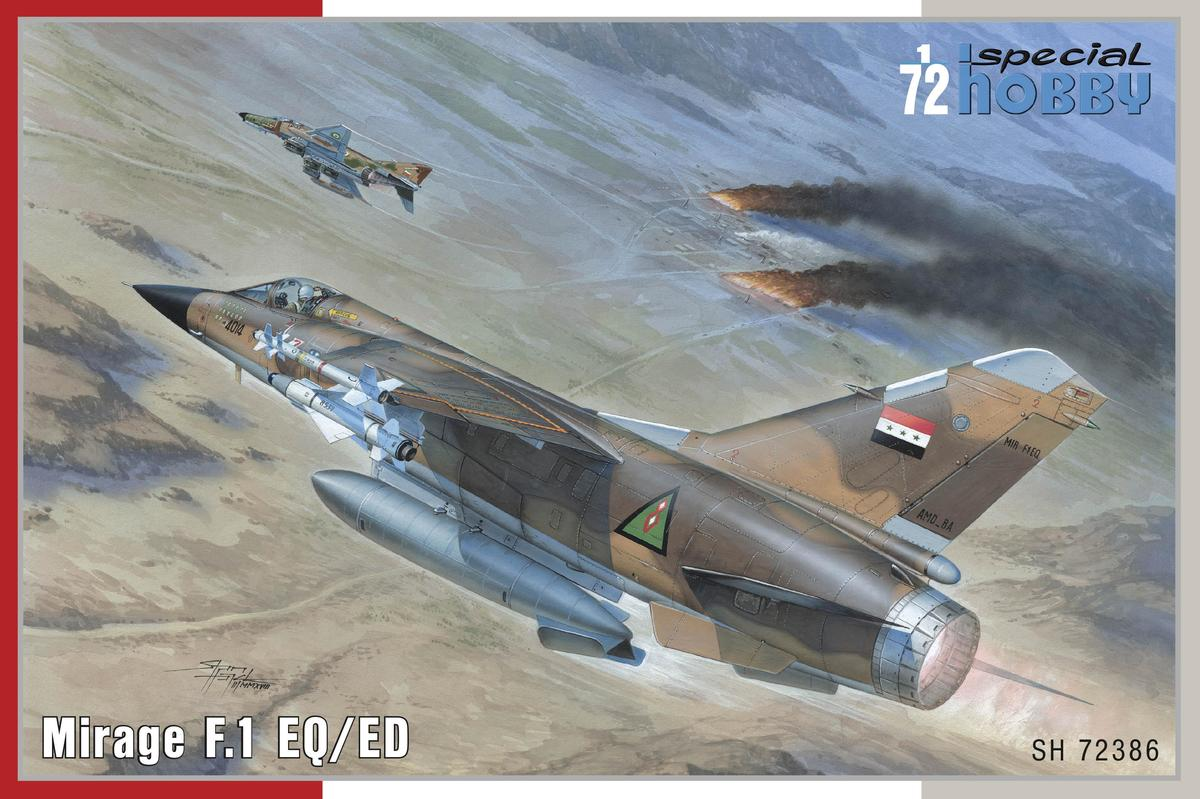 Special Hobby Mirage F.1 EQ/ED 1/72