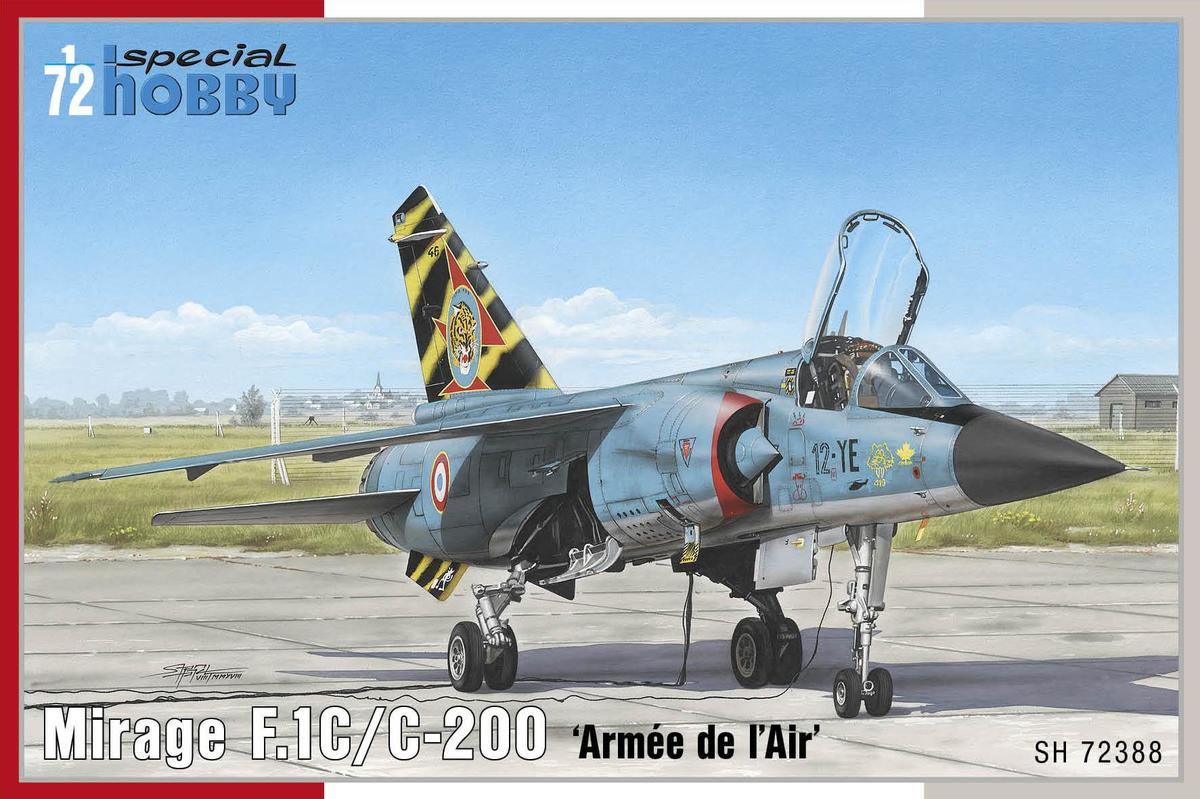 Special Hobby Mirage F.1C/C-200 'Armee de I'Air' 1/72