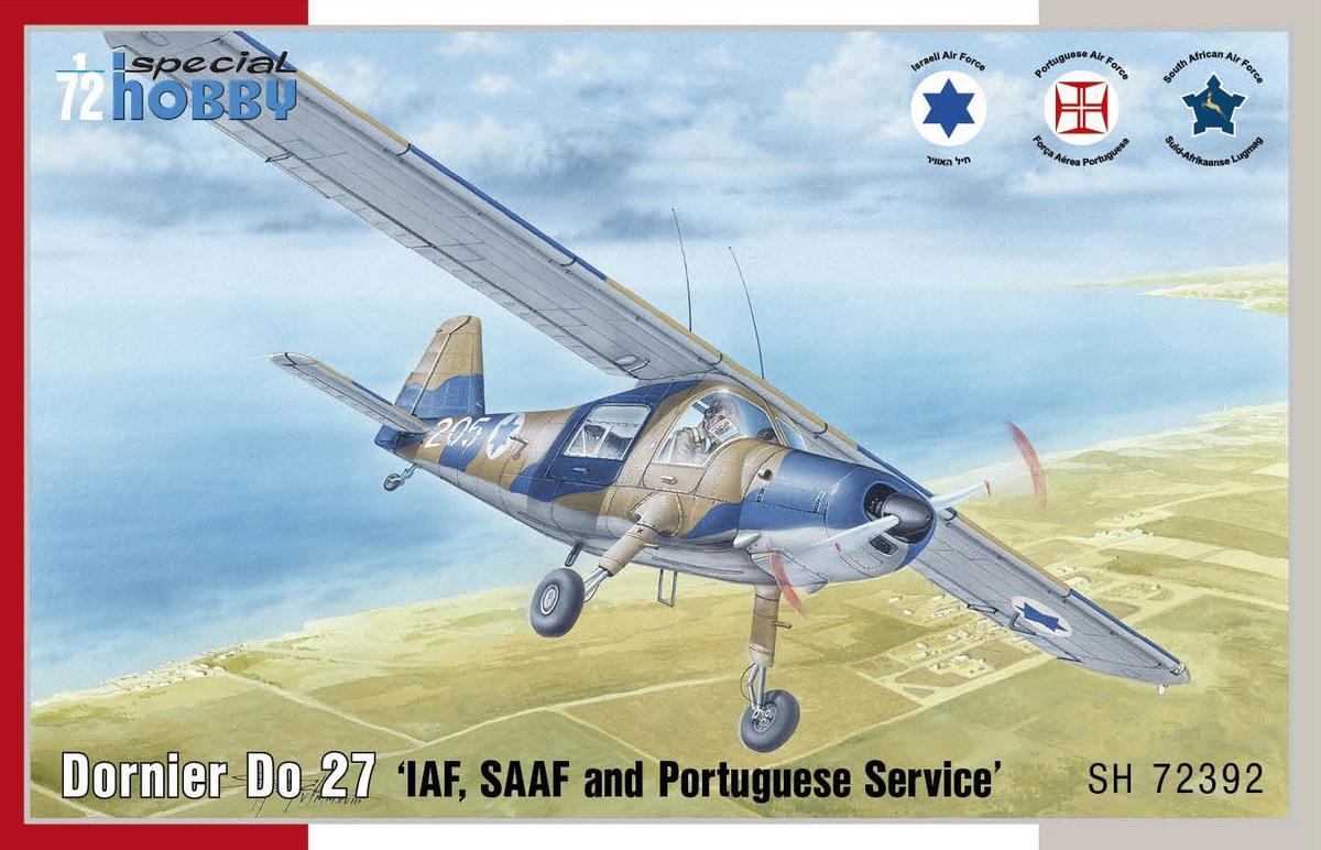 Special Hobby Dornier Do 27 IDF, SAAF and Portuguese Service 1/72