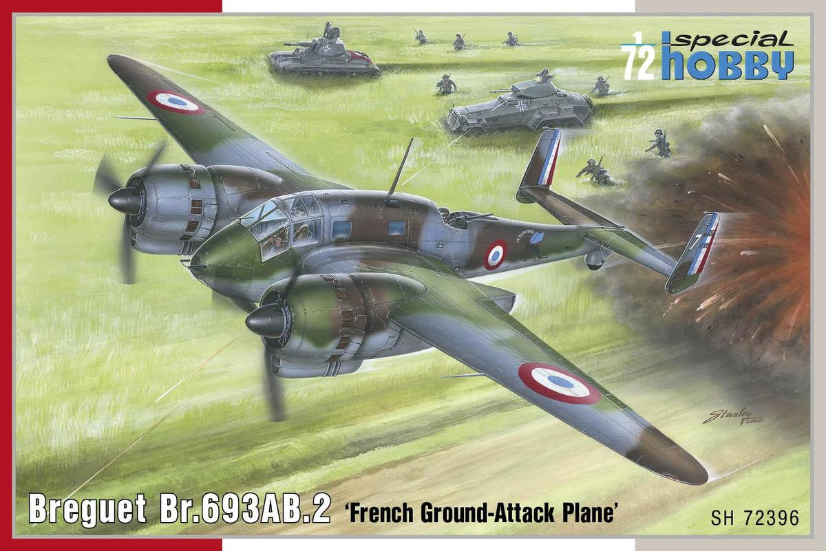 Special Hobby Breguet Br.693AB.2 'French Attack-Bomber' 1/72