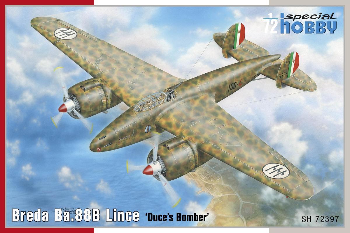 Special Hobby Breda Ba.88B Lince