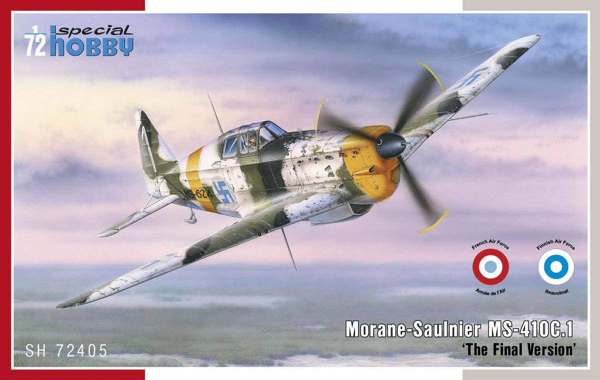 Special Hobby Morane Saulnier MS-410C.1 'TFie Final Version'