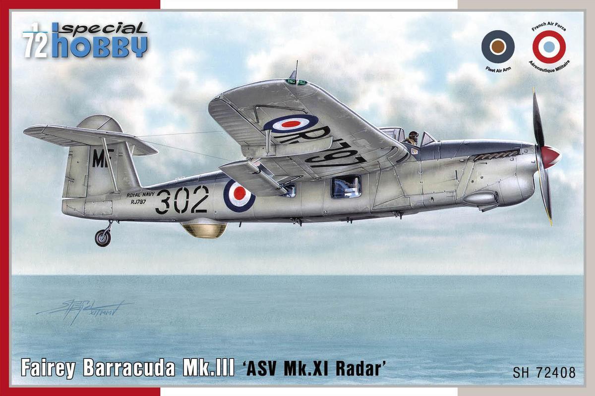 Special Hobby Fairey Barracuda Mk.lll 'ASV Mk.XI Radar' 1/72
