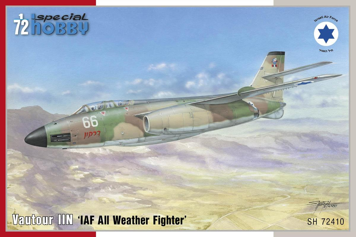 Special Hobby Vautour UN 'IAF All Weathier Fighiter'