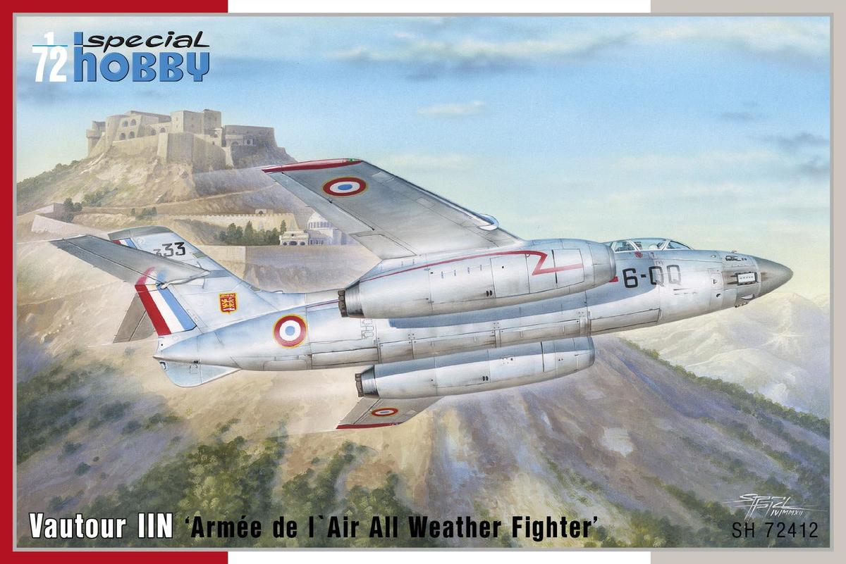 Special Hobby S.O. 4050 Vautour II 'Armee de 1' Air All Weather Fighter'