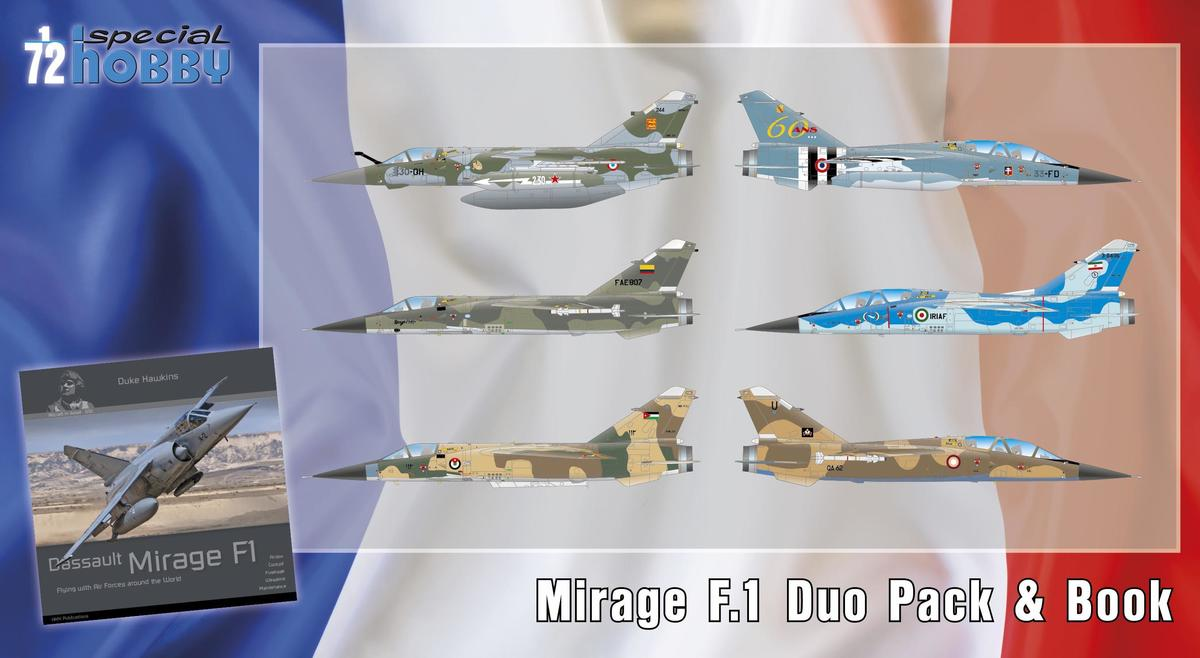 Special Hobby Mirage F.1 Duo Pack & Book