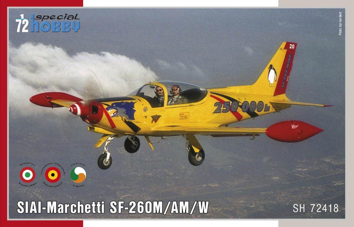 Special Hobby 1/72 SIAI-Marchetti SF-260M/AM/W