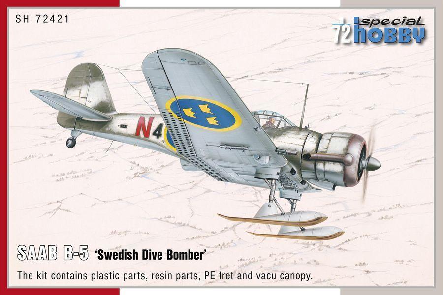 Special Hobby 1/72 SAAB B-5 Swedish Dive Bomber