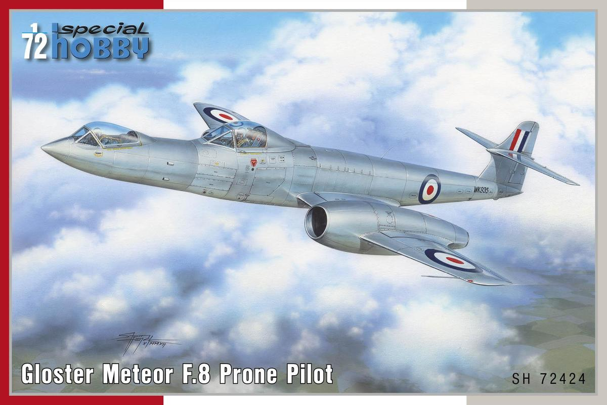 Special Hobby 1/72 Gloster Meteor F.8 Prone Pilot