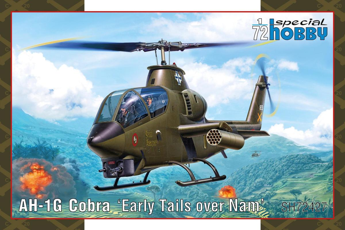 Special Hobby 1/72 AH-1G Cobra Early Tails