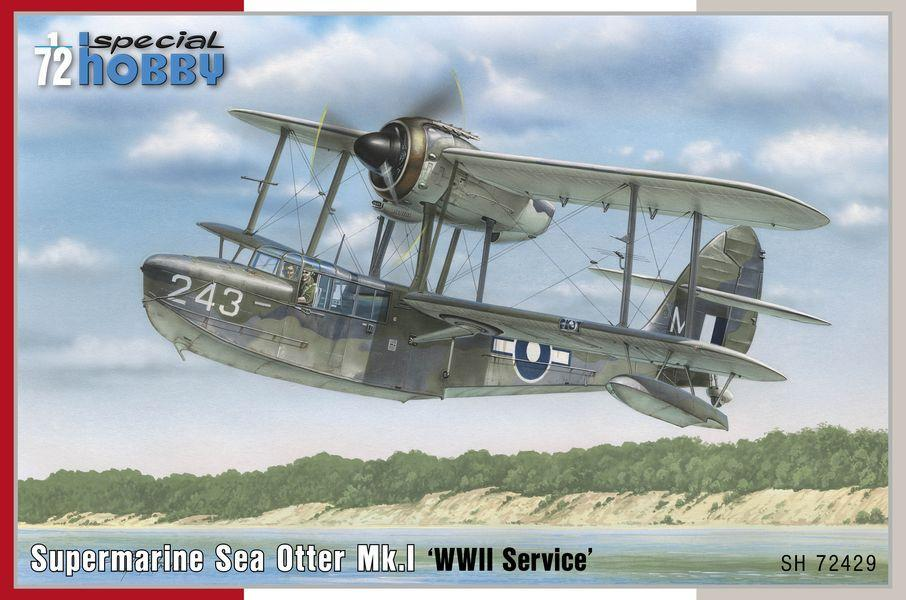 Special Hobby 1/72 Supermarine Sea Otter Mk.I WWII Service