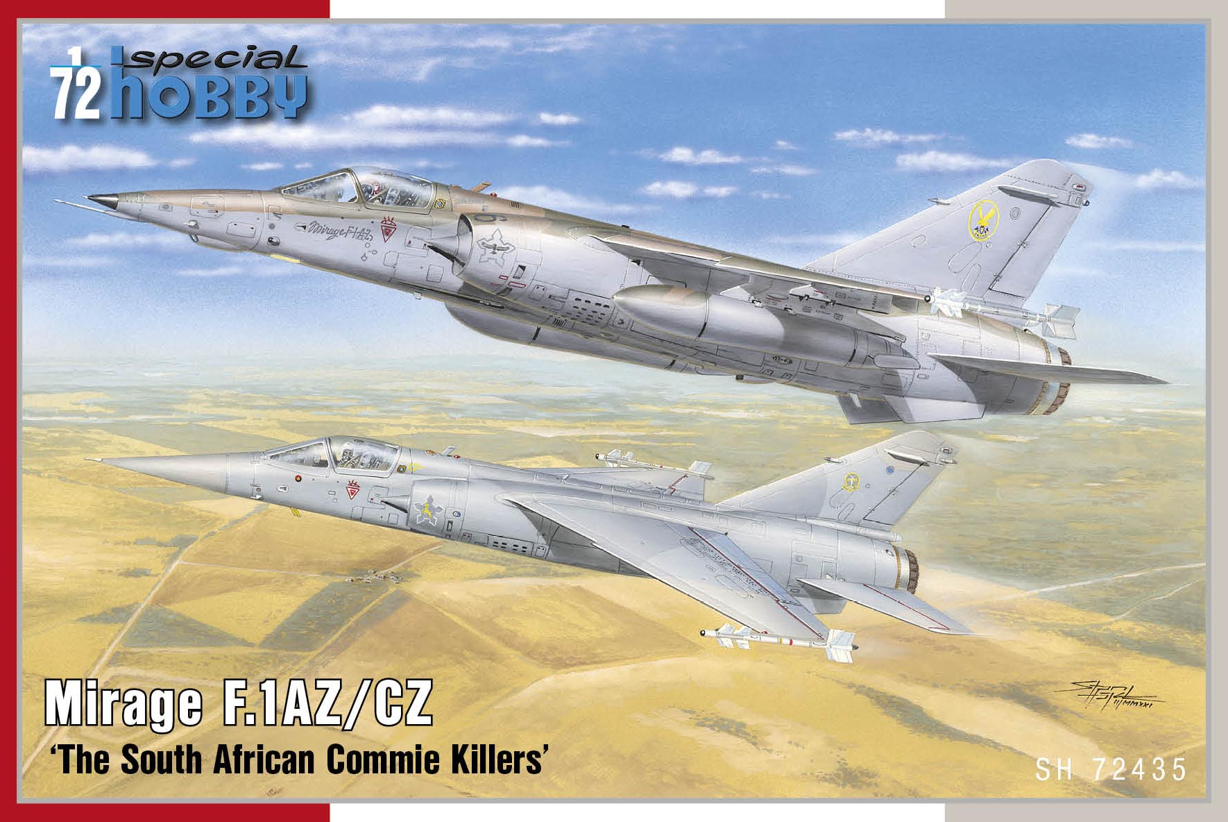 Special Hobby 1/72 Mirage F.1AZ/AC 'The South African Commie Killers'