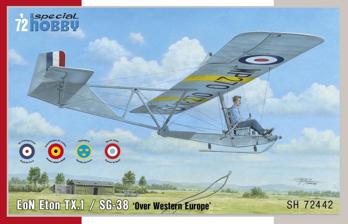 Special Hobby 1/72 EoN Eton TX.1 / SG-38 Over Western Europe