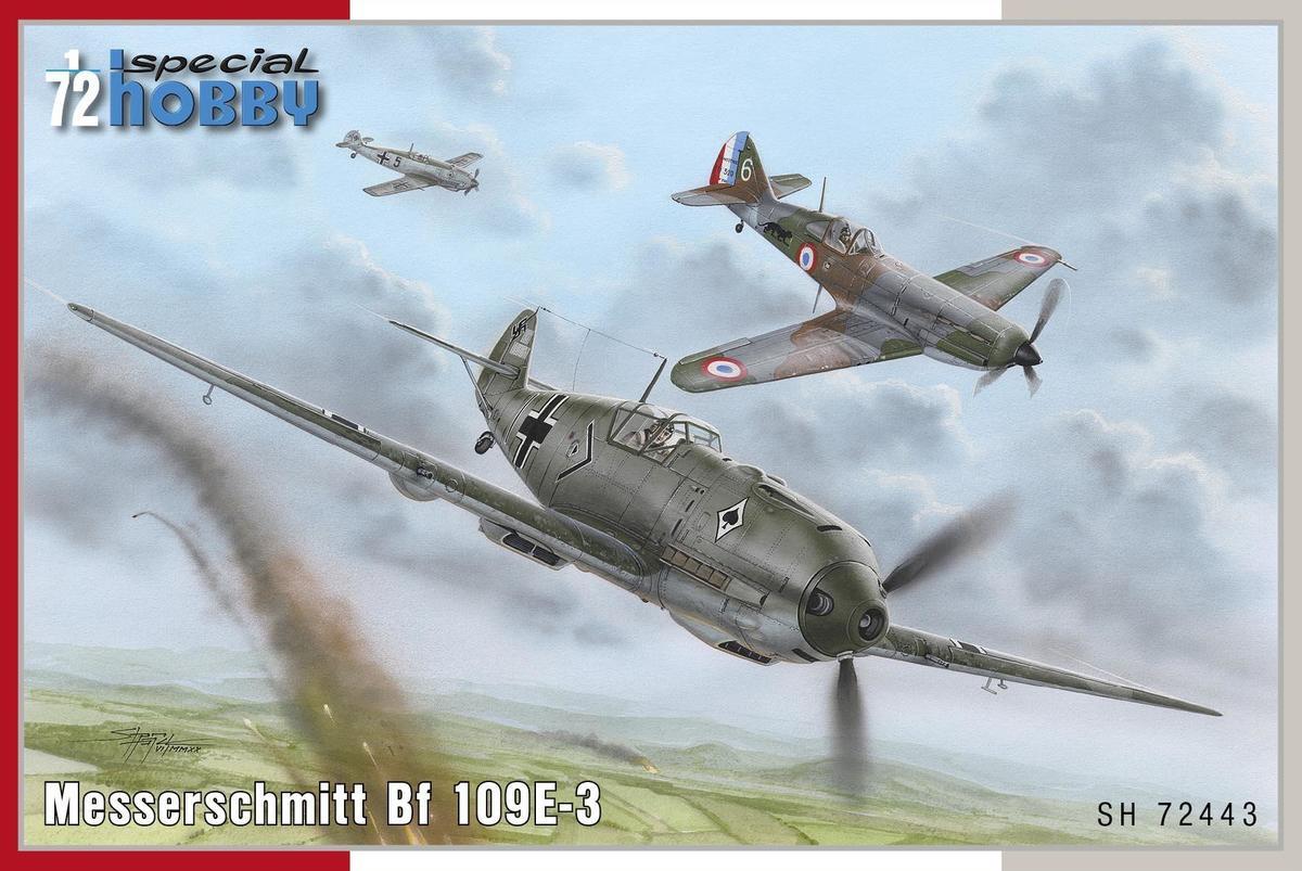 Special Hobby 1/72 Messerschmitt Bf 109E-3