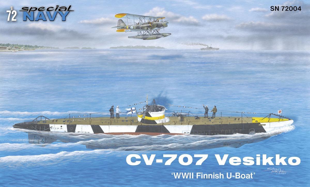 Special Hobby CV 707 Vesikko 'WWII Finnish U-Boat'