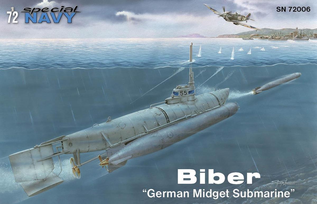 "Special Hobby Biber ""German Midget Submarine"" 1/72"