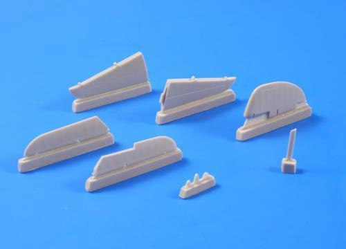 Special Hobby CMK 1/48 P-39D,F,K,M,N,Q Airacobra-Control Surf for HAS