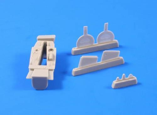 Special Hobby CMK 1/48 P-39D,F,K,M,N,Q Airacobra-Front+Main Wheels for HAS