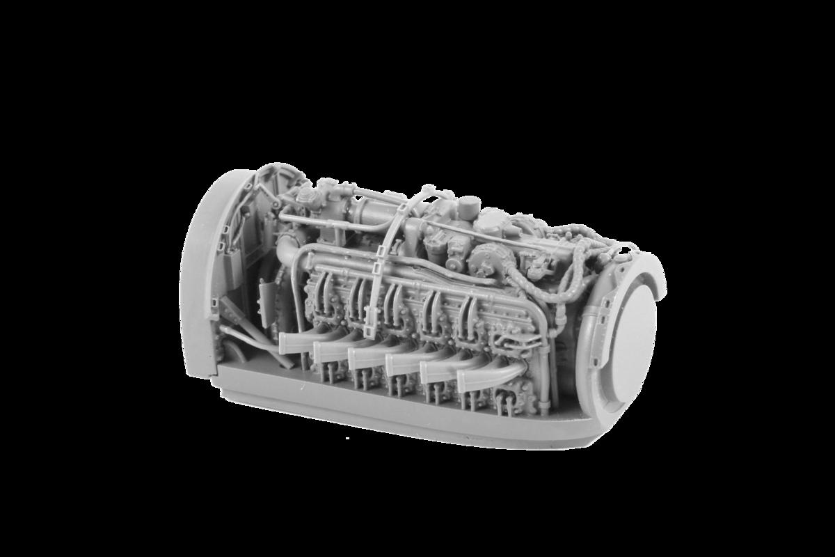 Special Hobby Tempest Napier Sabre engine (upper half)