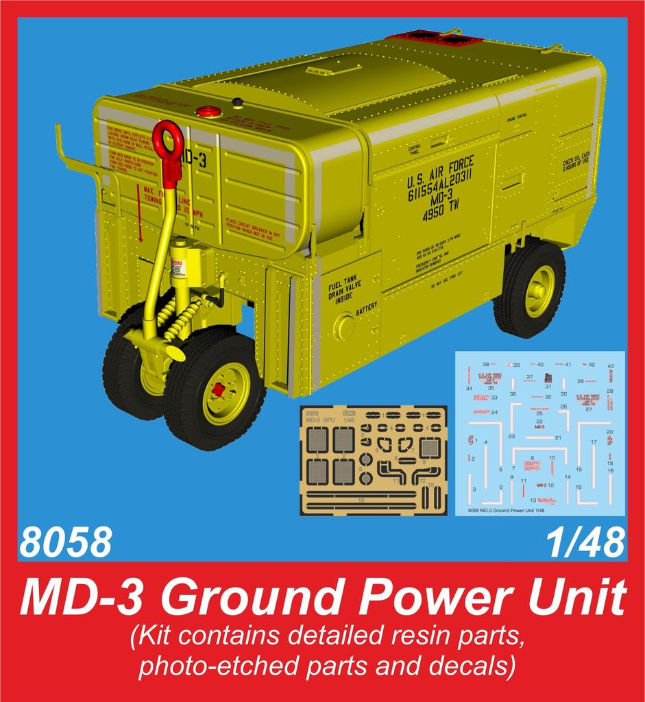Special Hobby CMK MD-3 Ground Power Unit