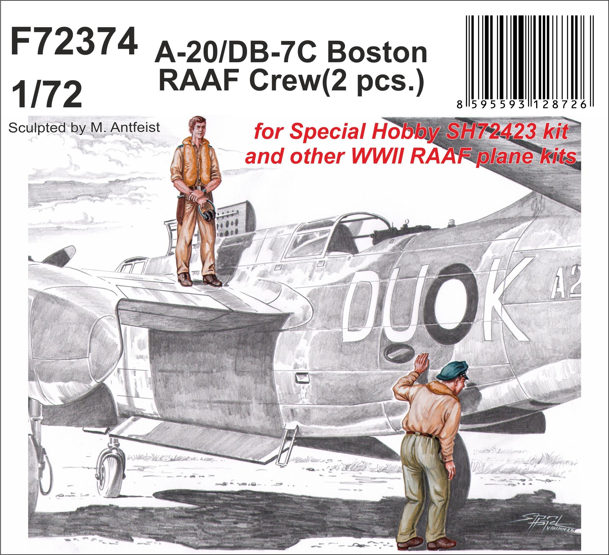 CMK 1/72 A-20/DB-7C Boston RAAF Crew