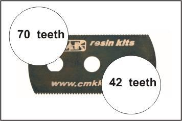 Special Hobby CMK Ultra smooth and extra smooth saw (2 sides)1p