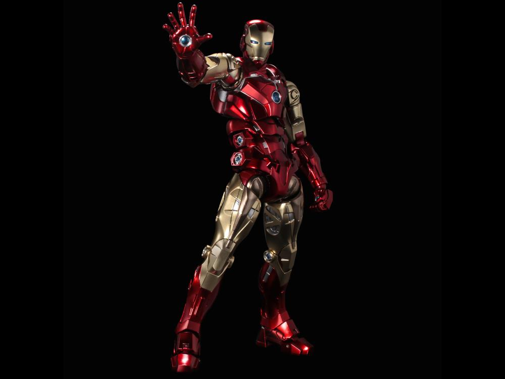 Sentinel Marvel Fighting Armor Iron Man Action Figure