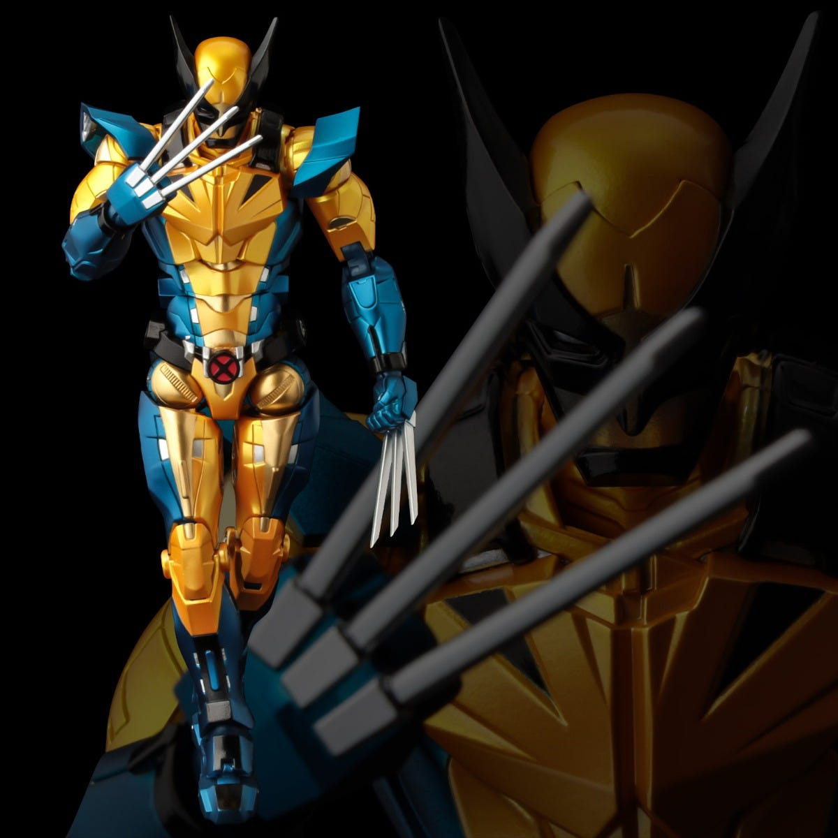 Sentinel Marvel Fighting Armor Wolverine Action Figure (16.5 Inch Tall approx)