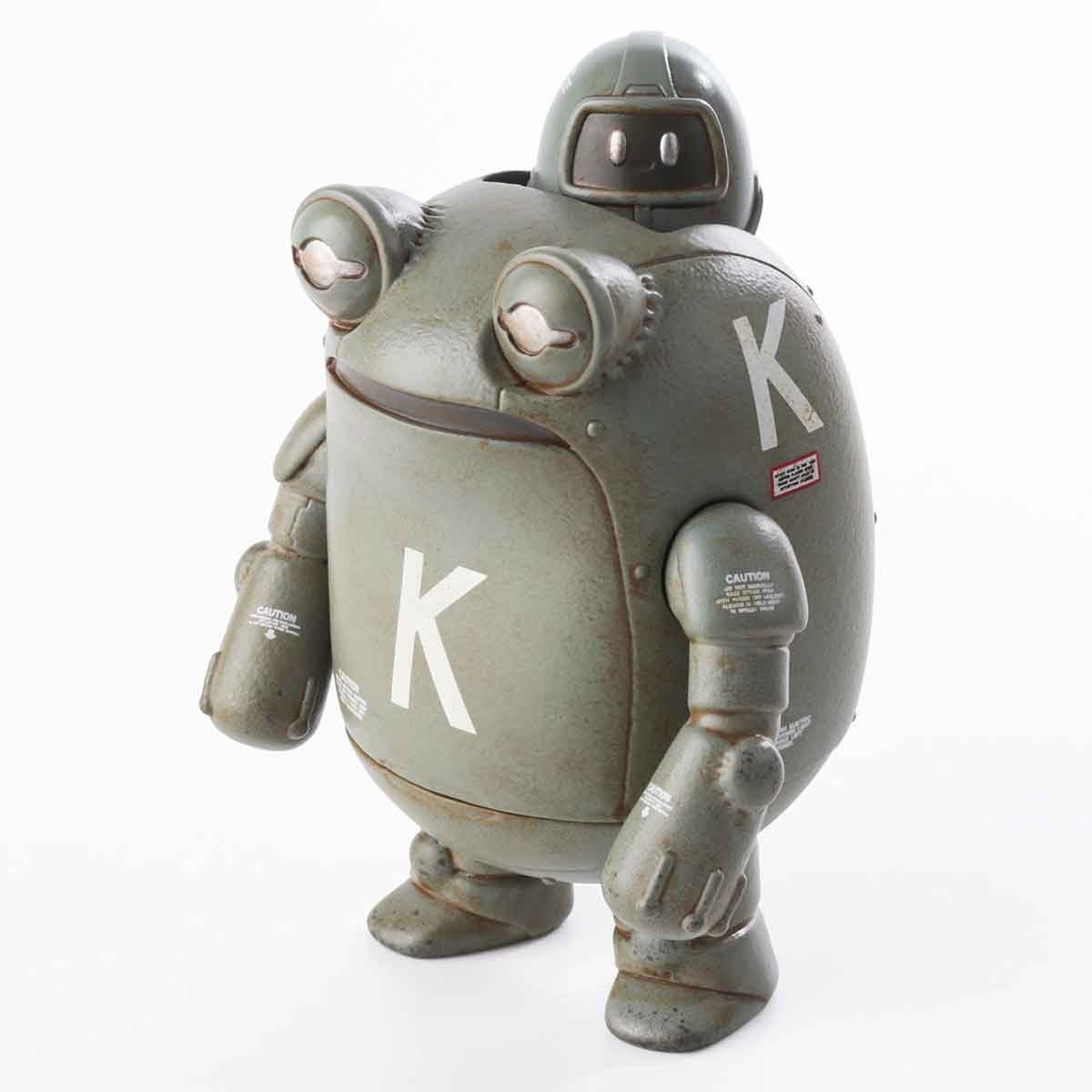 Sentinel Kerounen Fukasu Grey Vinyl Figure