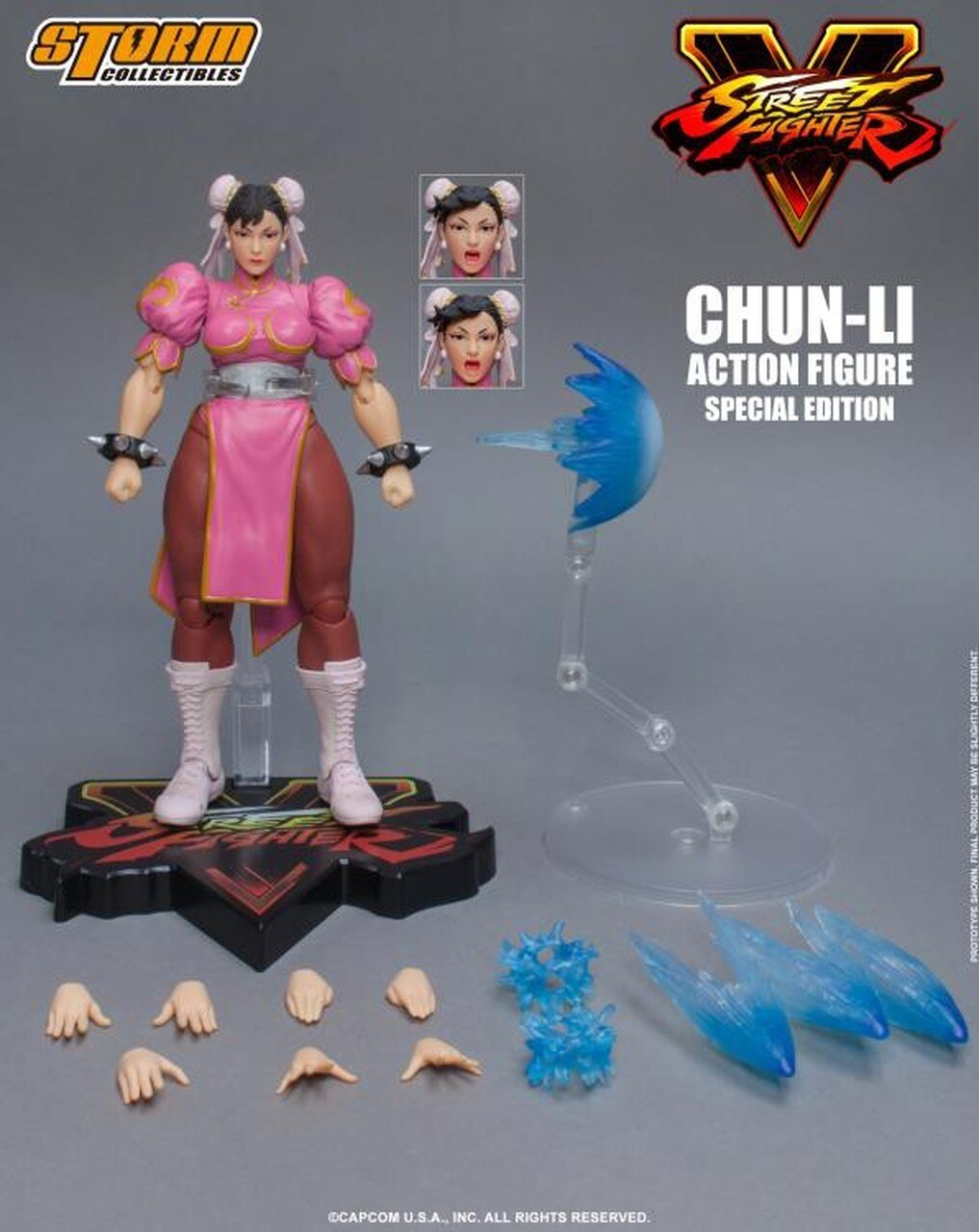 "Storm Collectibles Chun-Li (Special Edition) ""Street Fighter V"", Storm Collectibles 1/12 Action Figure"