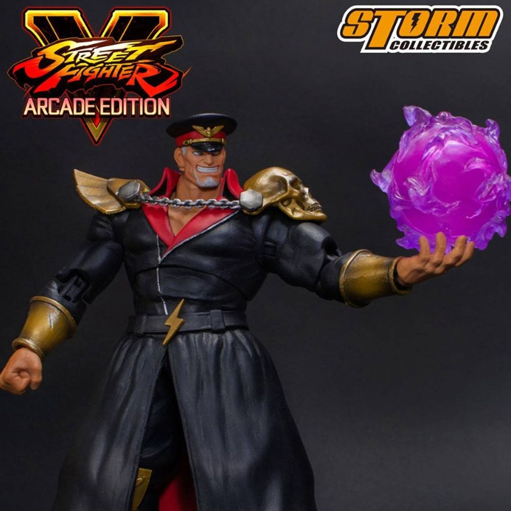"Storm Collectibles M. Bison Battle Costume ""Street Fighter V"", Storm Collectibles 1/12 Action Figure"