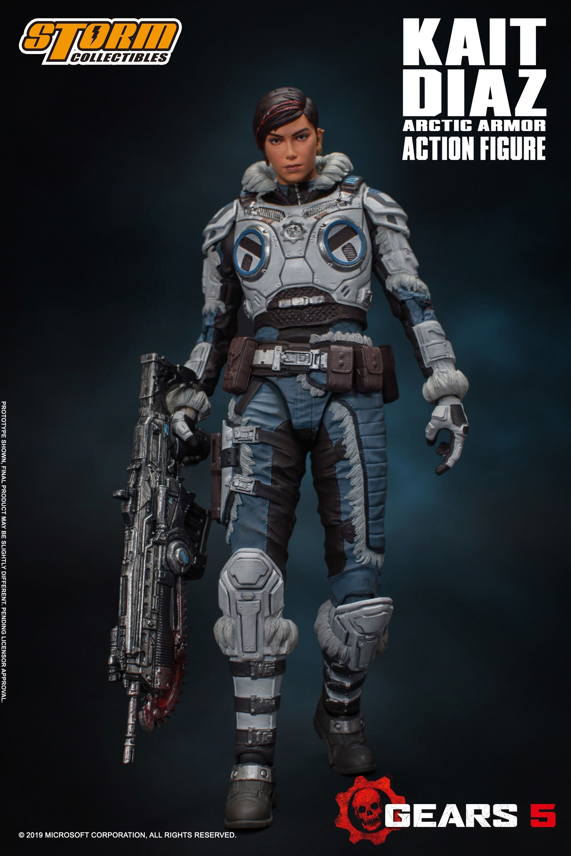 "Storm Collectibles 1/12 Kait Diaz ""Gears of War"" Action Figure"