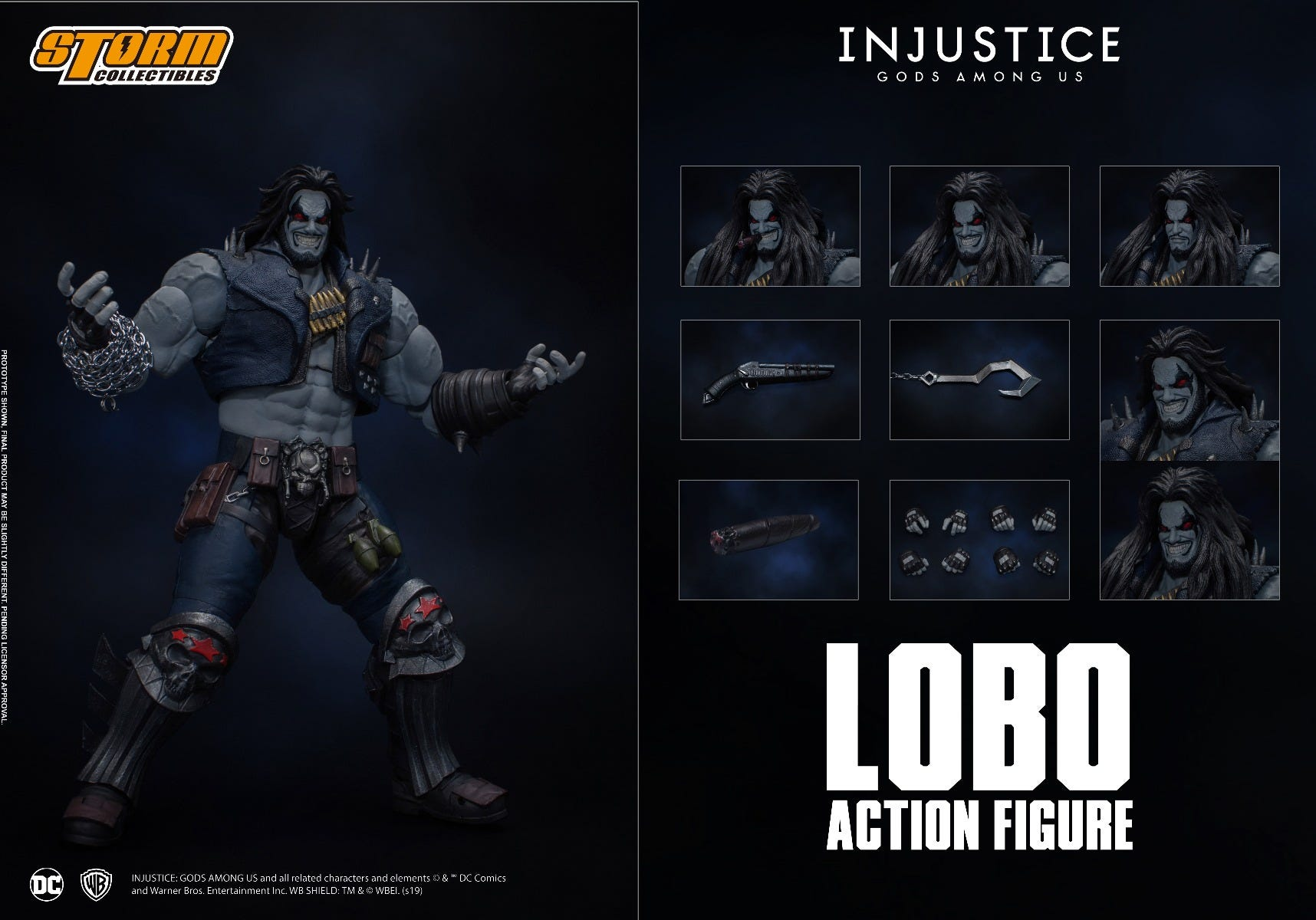 "Storm Collectibles 1/12 Lobo ""Injustice: Gods Among Us"" Action Figure"