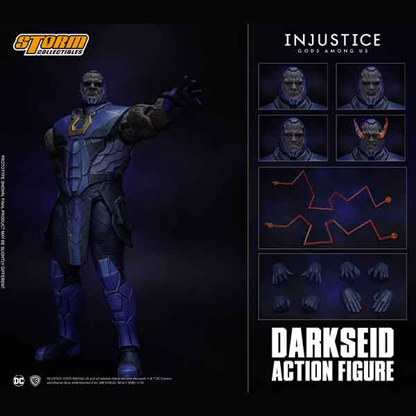 "Storm Collectibles 1/12 Darkseid ""Injustice: Gods Among Us"" Action Figure"