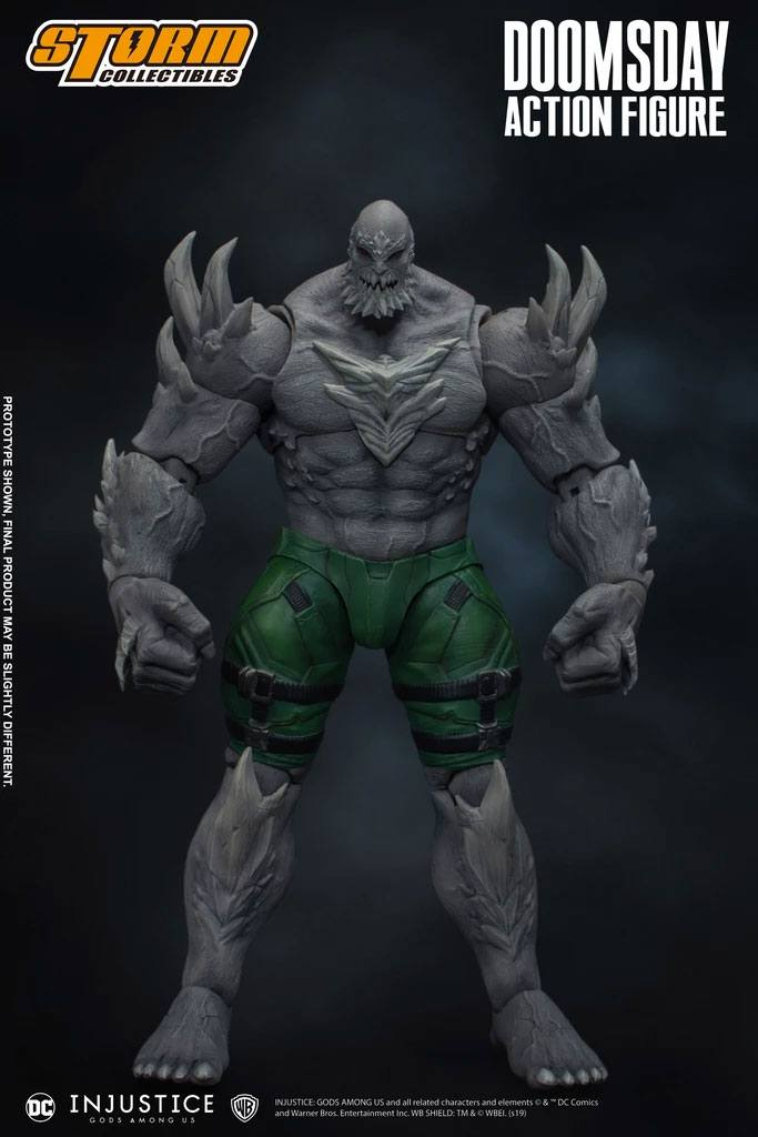 "Storm Collectibles 1/12 Doomsday ""Injustice: Gods Among Us"" Action Figure"