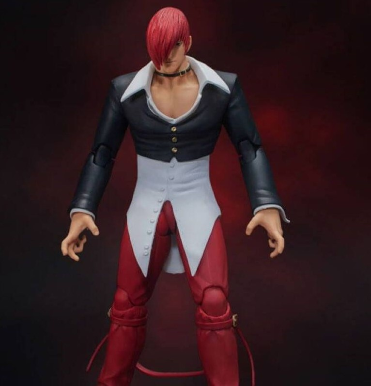 """Storm Collectibles Iori Yagami """"King of Fighters '98"""", Storm Collectibles 1/12 Action Figure"""